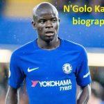 N Golo Kante profile
