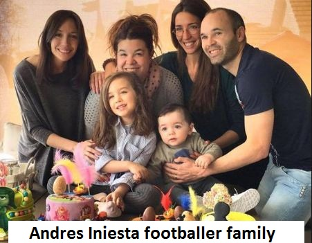 Andres Iniesta family