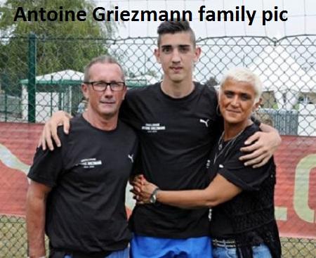 Antoine Griezmann family