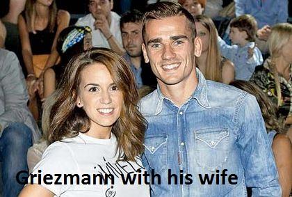 Antoine Griezmann wife