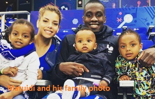 Blaise Matuidi with his family