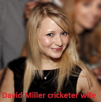 David Miller wife