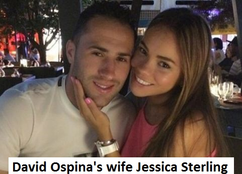 David Ospina wife