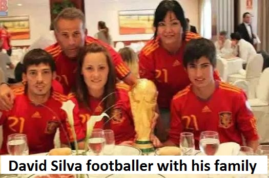 David Silva family