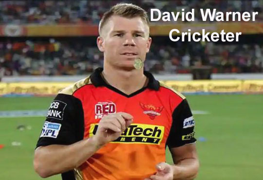 David warner cricketer, age, height, wife, bat, net worth, family and so