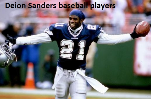 Deion Sanders baseball