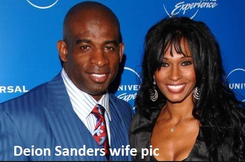 Deion Sanders wife her name Piller
