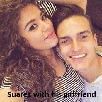 Denis Suarez girlfriend
