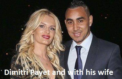 Dimitri Payet wife