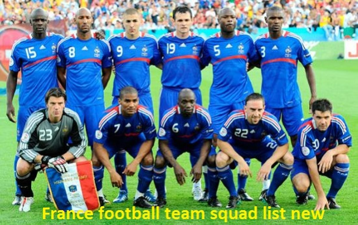 France National Football Team Players Roster Squad