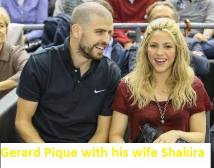 Gerard Pique wife