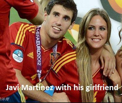 Javi Martinez girlfriend