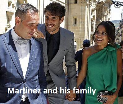Javi martinez family