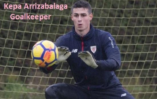 Kepa Arrizabalaga Profile, height, wife, family, salary, and club career