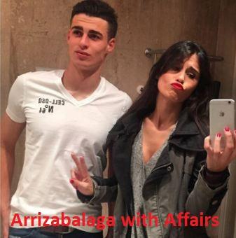 Kepa Arrizabalaga girlfriend