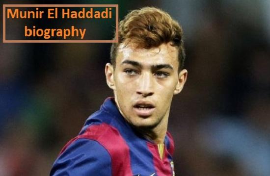Munir El Haddadi Profile, height, wife, family, net worth, and club career