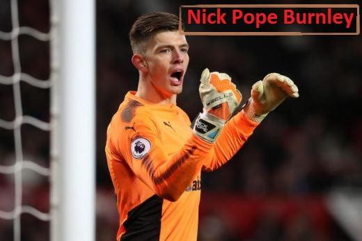 Nick Pope Burnley