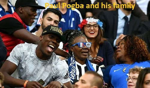 Paul Pogba family