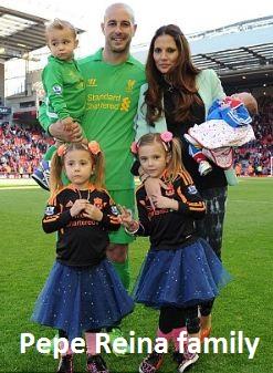 Pepe Reina family