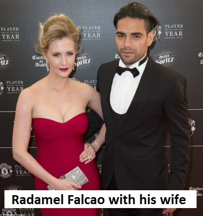 Radamel Falcao wife