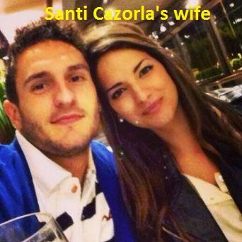 Santi Cazorla wife