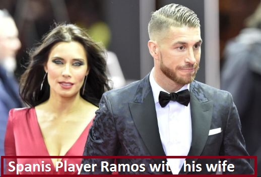 Sergio Ramos wife