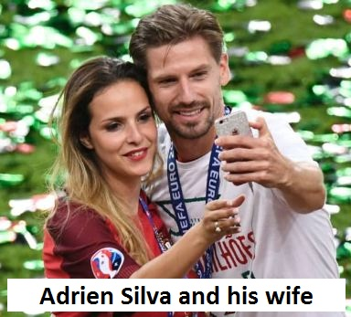 Adrien Silva's wife Margarida Neuparth