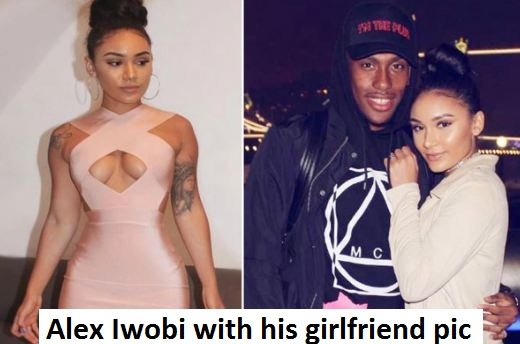 Alex Iwobi girlfriend