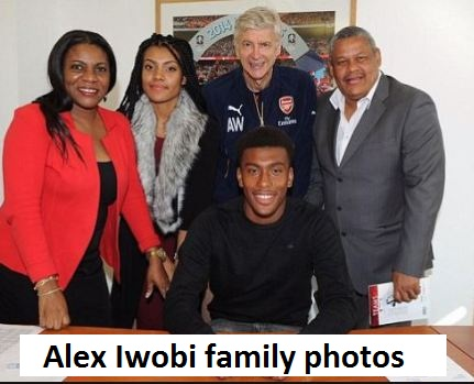 Alex Iwobi parents