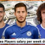Chelsea players salary per week