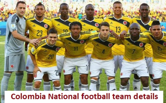 Colombia National Football team roster, players, fixtures, Jersey and more