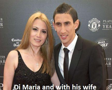Di Maria wife