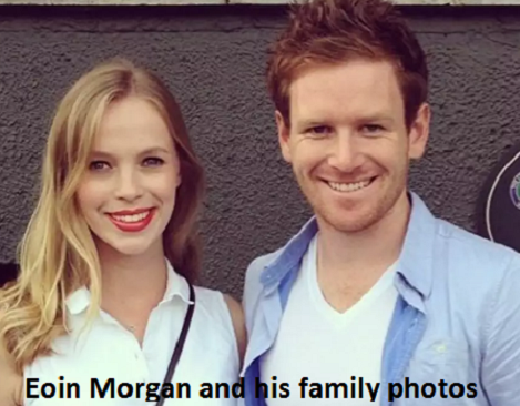 Eoin Morgan family