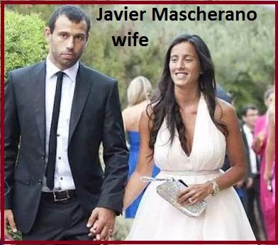 Javier Mascherano wife