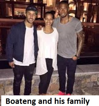 Jerome Boateng family