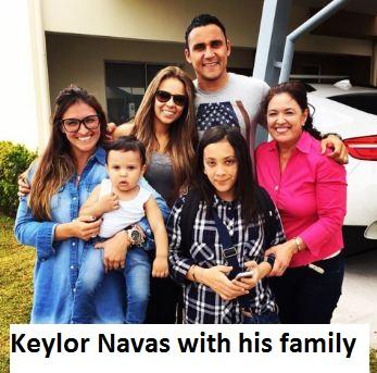 Keylor Navas family
