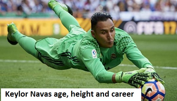 Keylor Navas height