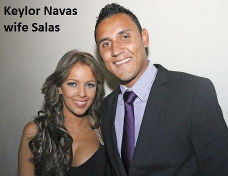 Keylor Navas wife salas