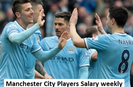 Manchester City Players Salary 2018 (per week), wages and transfer salary
