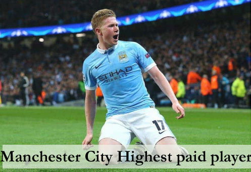 Manchester City highest paid player