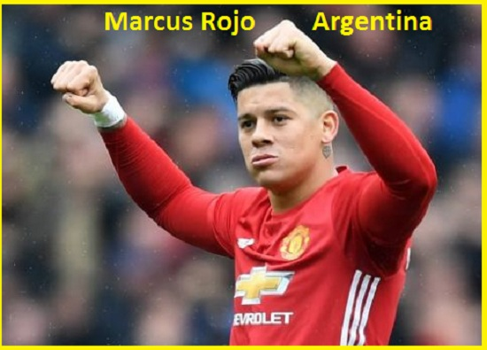 Marcus Rojo Argentina, height, wife, FIFA 18, current teams, injury, and more