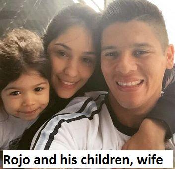 Marcus Rojo family