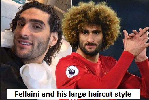 Marouane Fellaini haircut