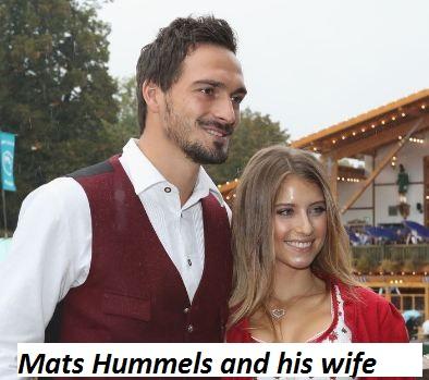 Mats Hummels wife