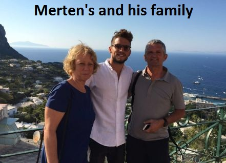 Dries Merten's family