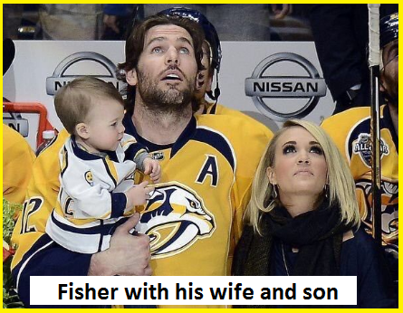 Mike Fisher family