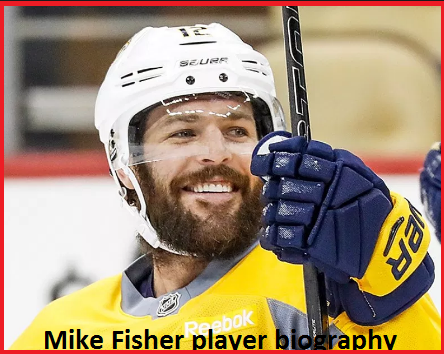 Mike Fisher hockey