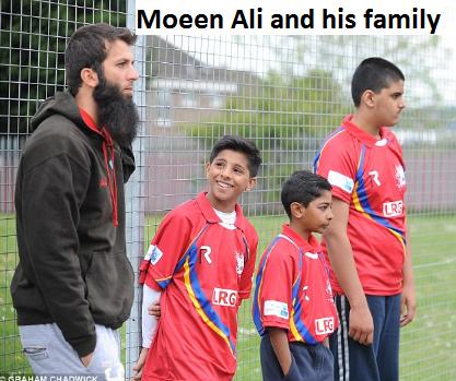Moeen Ali family