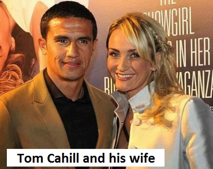 Tom Cahill wife