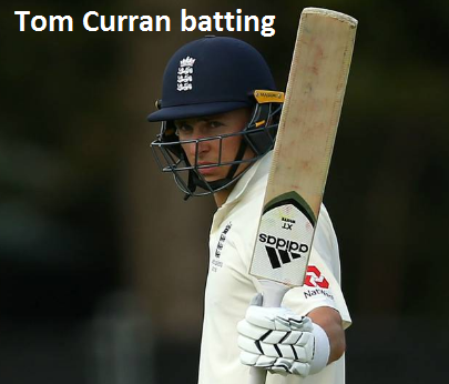 Tom Curran batting